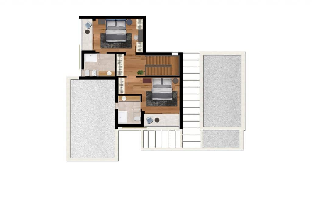 Villa Ines - tlocrt